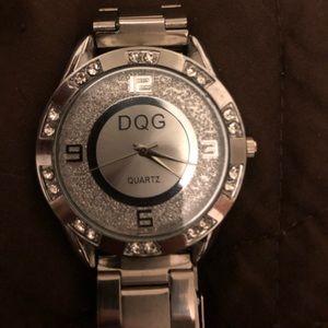Stainless Steel DQG Quartz Watch